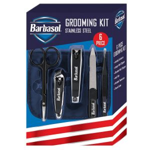 Barbasol Grooming Kit with Travel Case