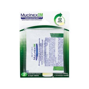 Mucinex DM Single Dose Individual Packets