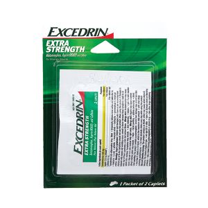 Excedrin Extra Strength Pain Relief Single Dose Individual Packets