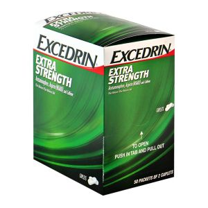 Excedrin Extra Strength Pain Relief Gravity Fed Display Box