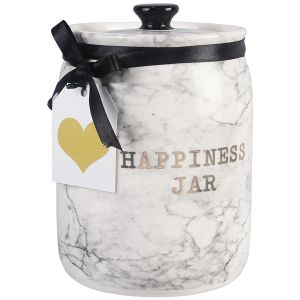 Ceramic Happiness Jar with 50 Cards