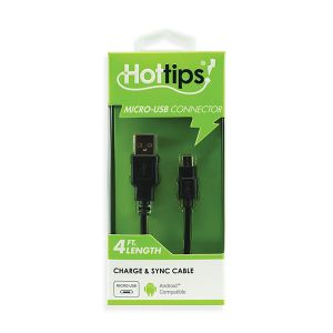 HotTips Charge and Sync Cable - Micro-USB to USB