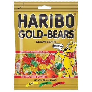 Haribo Gold-Bears - 5 Ounce Hanging Bags