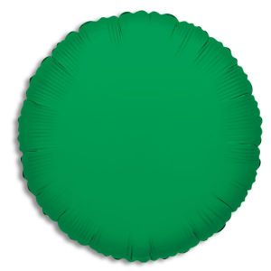 Solid Color Foil Balloon - Emerald Green