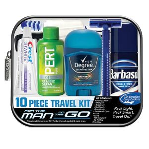 Men's 10-Piece Travel Kit