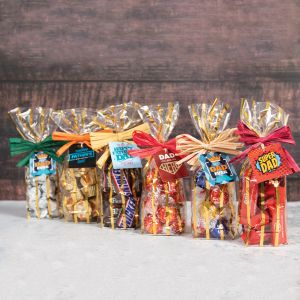 Father's Day Candy Gift Bag - Chocolate Assortment