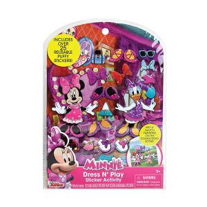 Dress N Play Puffy Sticker Set - Minnie Mouse