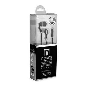 Sentry Earbuds with In-Line Mic - Black