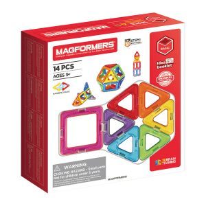 Magformers Magnetic Building Set - 14-Piece - Primary