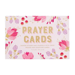 Scripture and Prayer Card Boxed Set - Pink Box