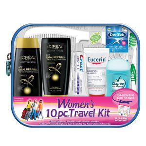 Women's 10-Piece Travel Kit