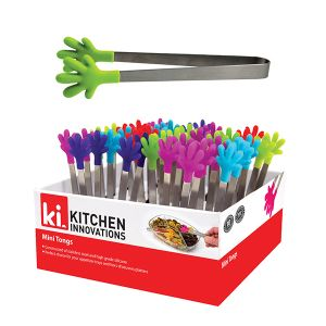 Kitchen Innovations Mini Silicone Tongs