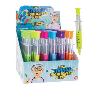2-In-1 Syringe Highlighters and Pens