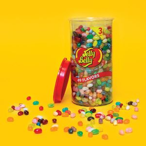 Jelly Belly Gourmet Jelly Beans - 49 Flavors - 3-Pound Tub